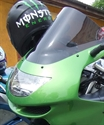 Imagine pentru categorie Parbriz moto Kawasaki