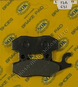 Picture of Placute frana moto FDB631 - SOK LD228