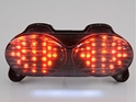 Picture of Lampa stop moto cu led Kawasaki ZX6 / ZX9 / ZR7 / ZZR (1998-2008) fumuriu 50%