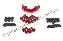 Picture of Suruburi carene moto rosii 19 buc