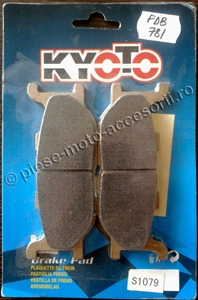 Picture of Placute frana moto FDB781 - KYOTO S1079